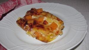 cannelloni di zucca e salsiccia